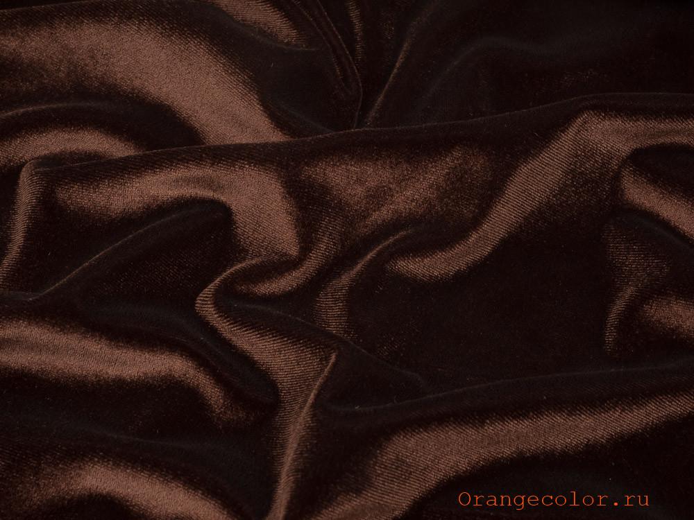 Купить товар Плательно-костюмный бархат 5959БАР по низкой цене с доставкой в интернет-магазине Цвет Апельсина.