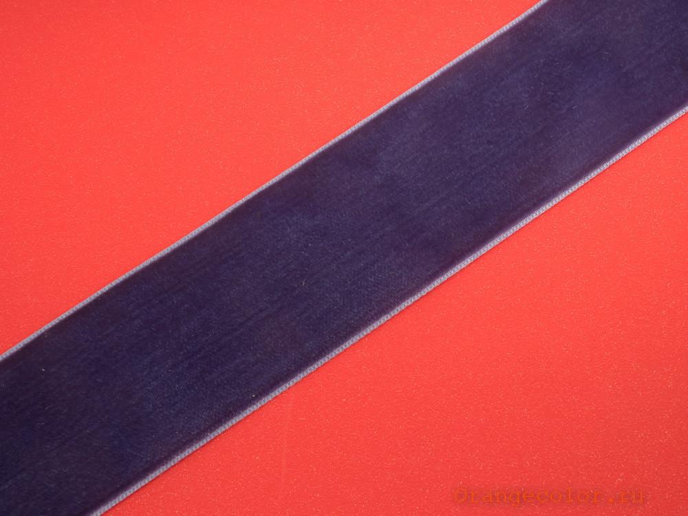 Купить товар Бархатная лента ТД0369 по низкой цене с доставкой в интернет-магазине Цвет Апельсина.