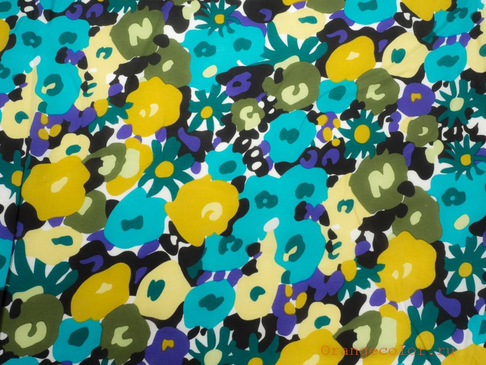 Купить товар Плательная ткань 6320ВП по низкой цене с доставкой в интернет-магазине Цвет Апельсина.