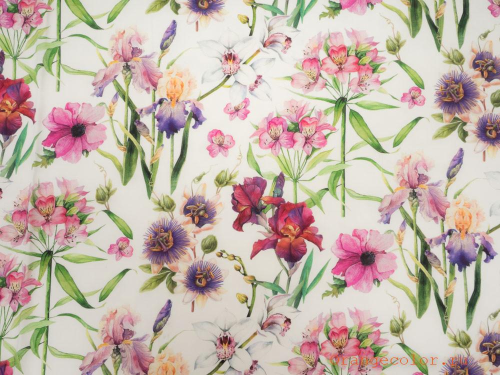 Купить товар Сорочечно-плательная ткань 6313ВП по низкой цене с доставкой в интернет-магазине Цвет Апельсина.