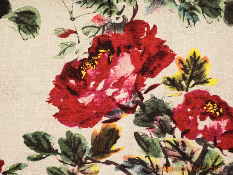 Купить товар Плательно-костюмная ткань 5311ЛП по низкой цене с доставкой в интернет-магазине Цвет Апельсина.
